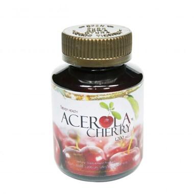 ตัวแทนจำหน่ายวิตามินซี ACEROLA CHERRY USA 1200 mg